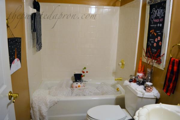 snowman-bath