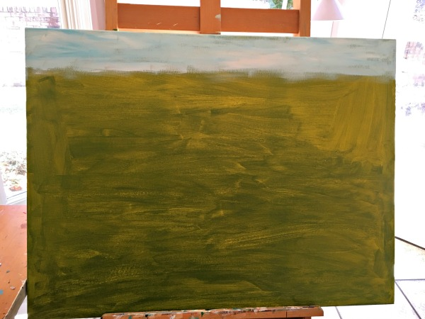underpainting-sky