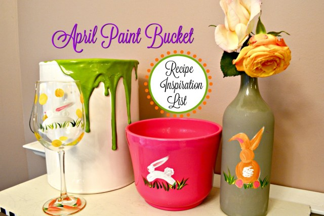 April Paint Bucket