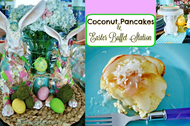 Coconut Pancakes & Easter buffet