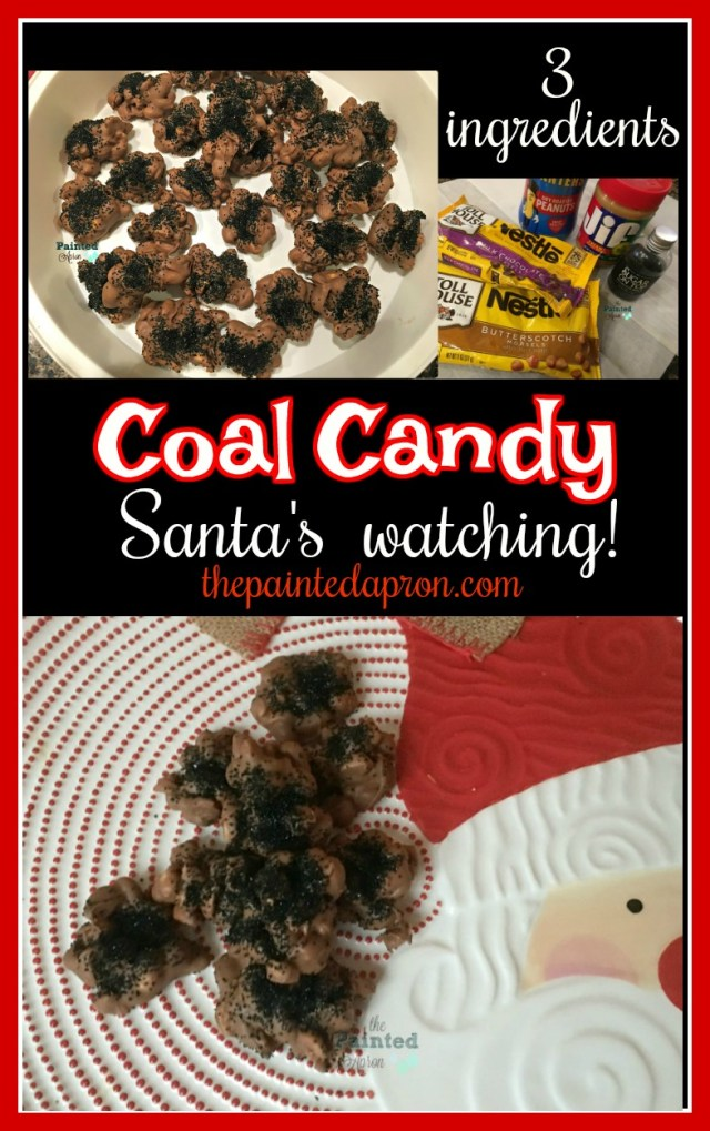 3 ingredient coal candy