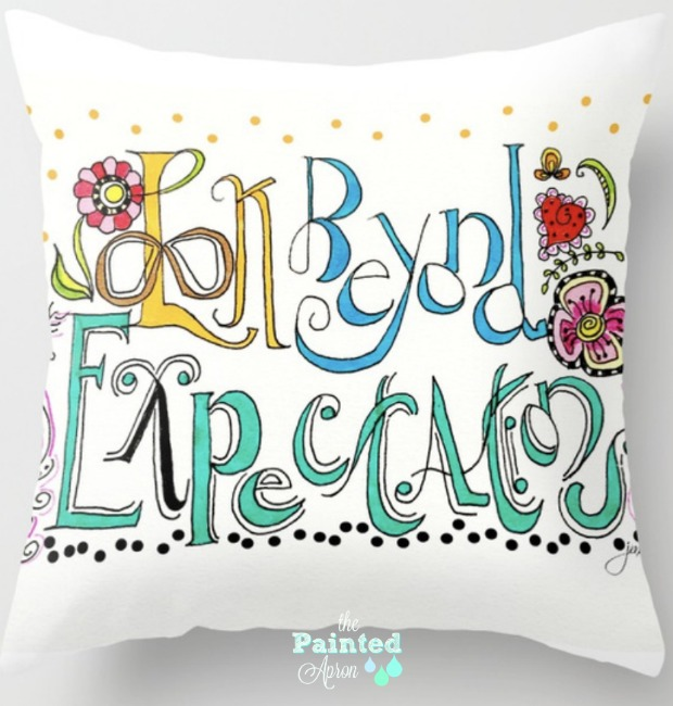 Look pillow