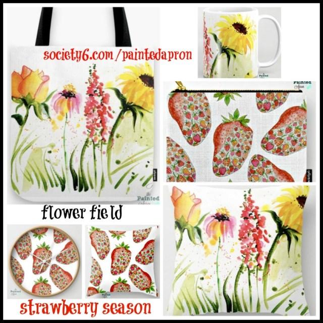 flower field & strawberry season