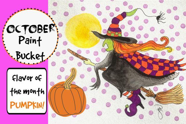 October Paint Bucket