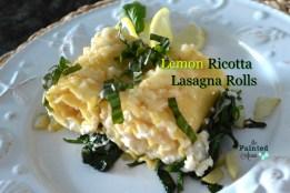 lemon ricotta lasagna
