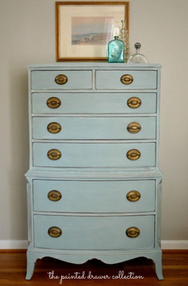 Annie Sloan Chalk Paint Duck Egg Blue Dresser