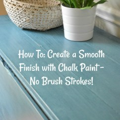 Painting Kitchen Cabinets Cost Bosch Package How-to Tuesday: Create A Smooth Finish With Chalk Paint ...