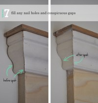 How to Add Decorative Trim to Door Frames | The Painted Hive
