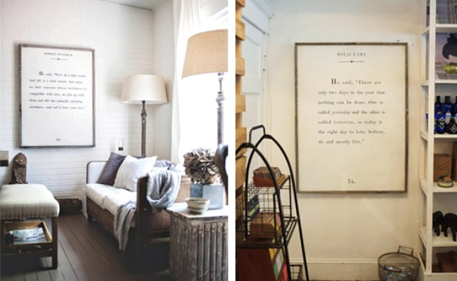 Diy Quote Art And Free Printable Sign The Painted Hive