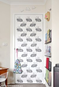 Super Affordable DIY Wall Decalsusing clear sticker paper ...