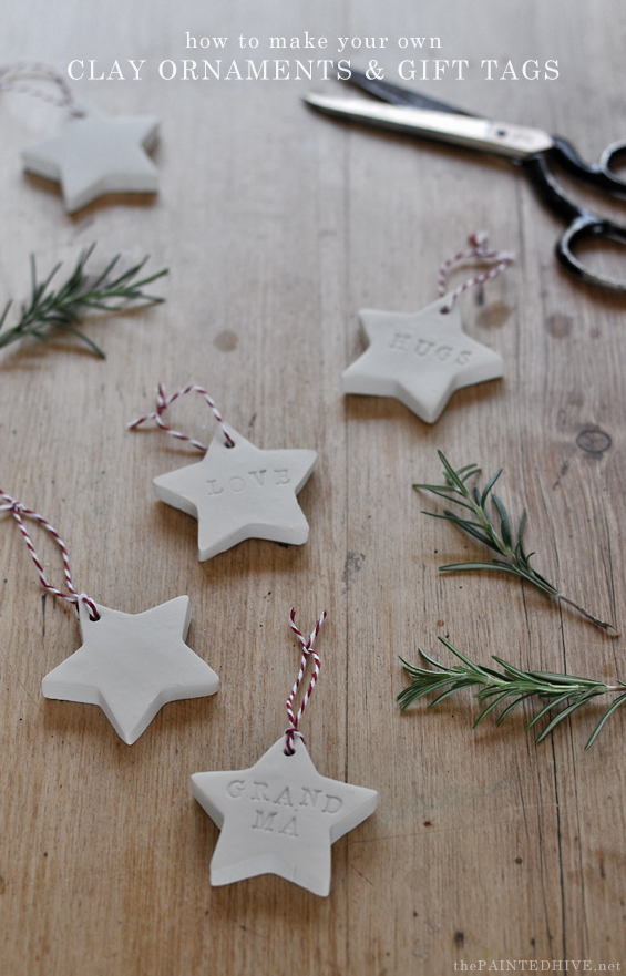 The Best DIY Clay Tag & Ornament Tutorial