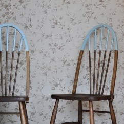 Diy Painted Windsor Chairs What Is A Lift Chair How To Make Hat Sock Seats Aka Paint Dipped The