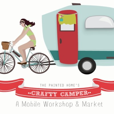It's SPRING and the Crafty Camper is ready to roll!