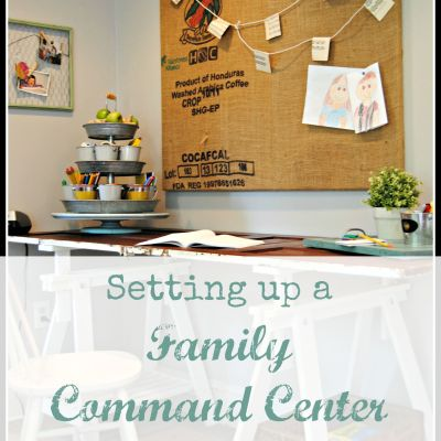 Setting Up A Family Command Center