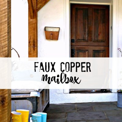 How to create a Copper Mailbox