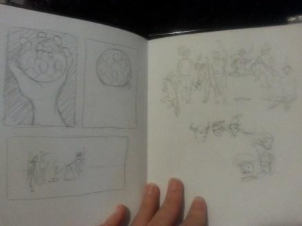 7 Backgrounds sketch