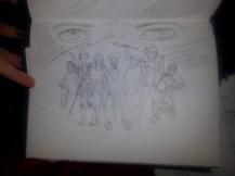 8 Backgrounds Sketch
