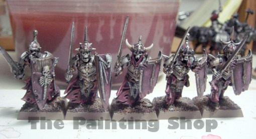 Vampire Count Grave Guards March On The Painting Shop