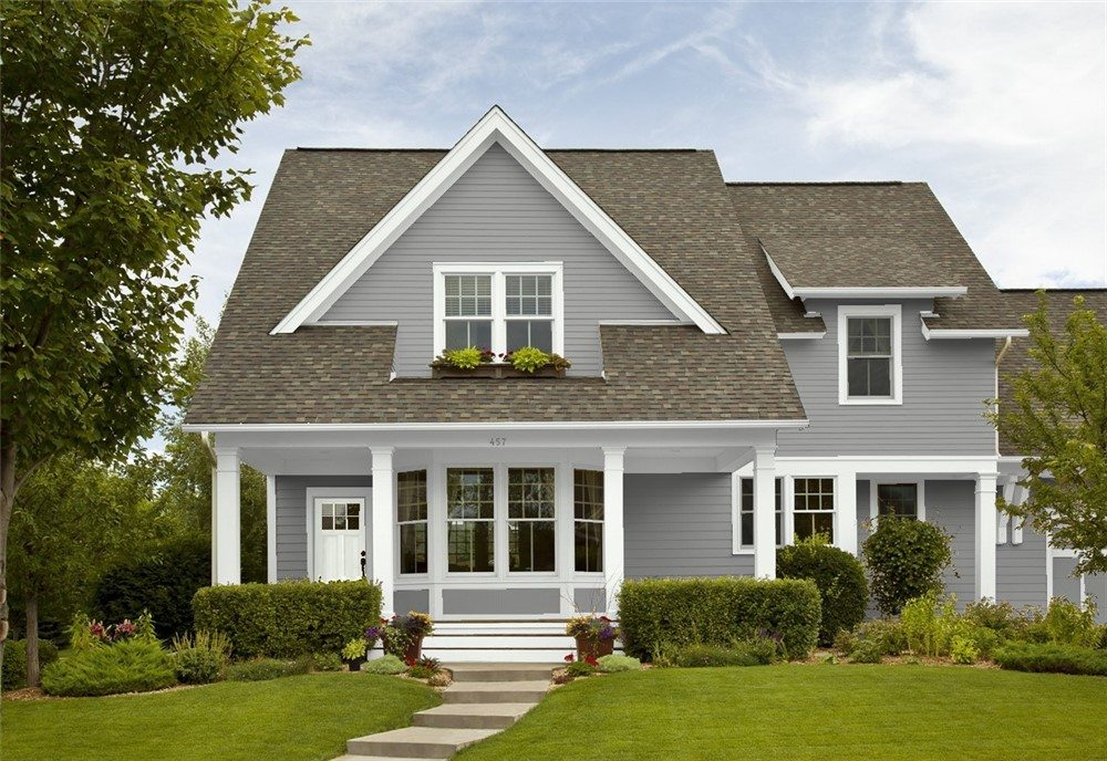 Great Grays for Exterior Paint Colours