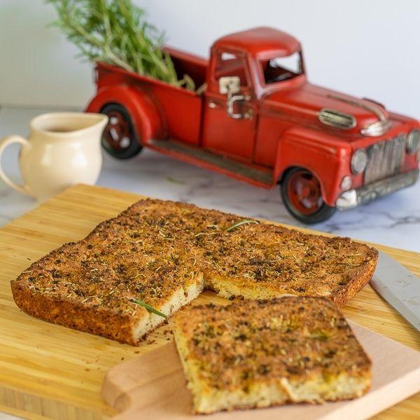 Paleo Vegan Focaccia Bread