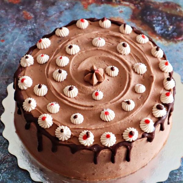 Paleo Chocolate Raspberry Cake in Toronto