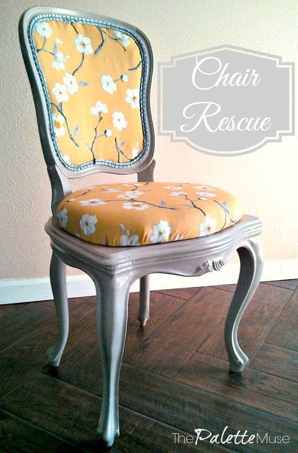 How to rescue and rehab your own fabulous chair