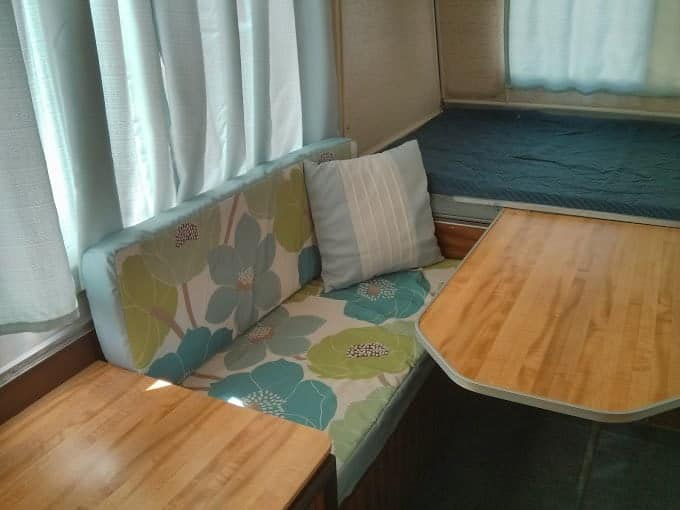 Dinette Cushions Re Upholstered