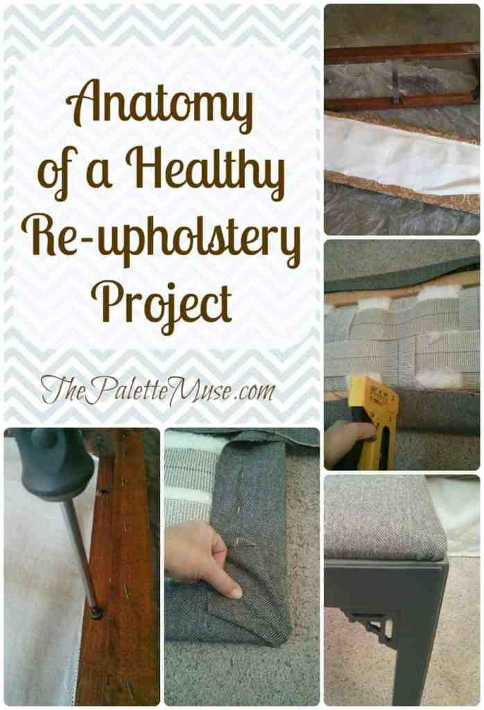Re-upholstering a Bench