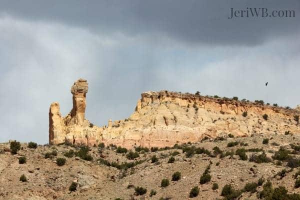 Desert Landscapes Chimney Rock