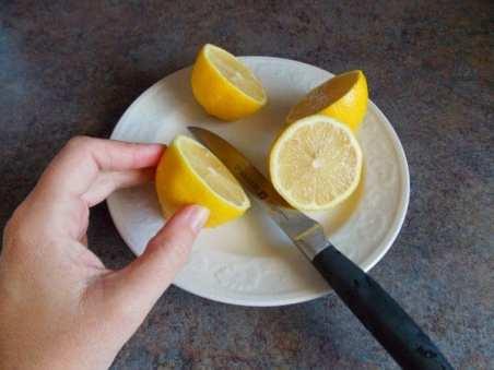I love the smell of lemons!