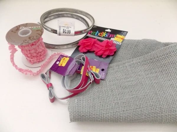 Thrifty Supplies for Earring Organizer