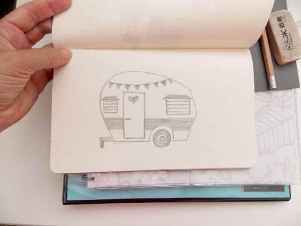 Linocut Part 1: Drawing