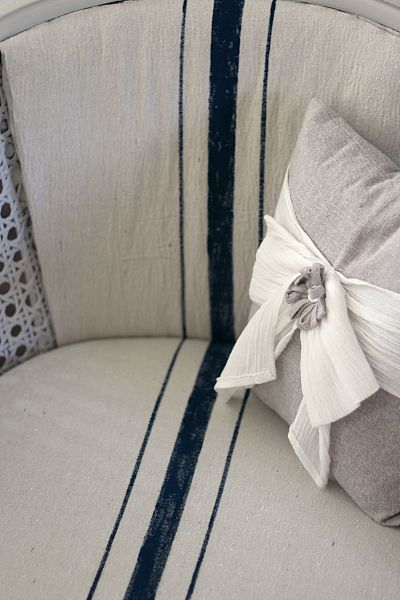 What's the secret to getting perfectly matched lines when upholstering? Find out here.