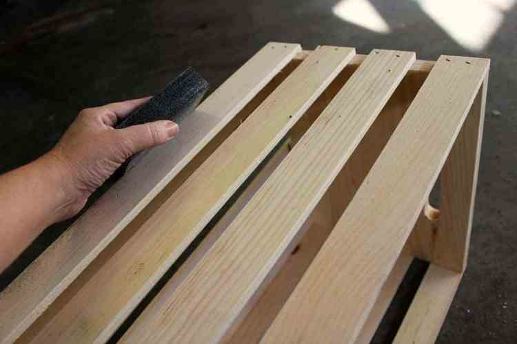 Holiday-Crate-Sanding