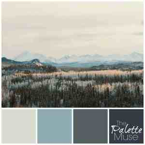 Icy Valley Palette