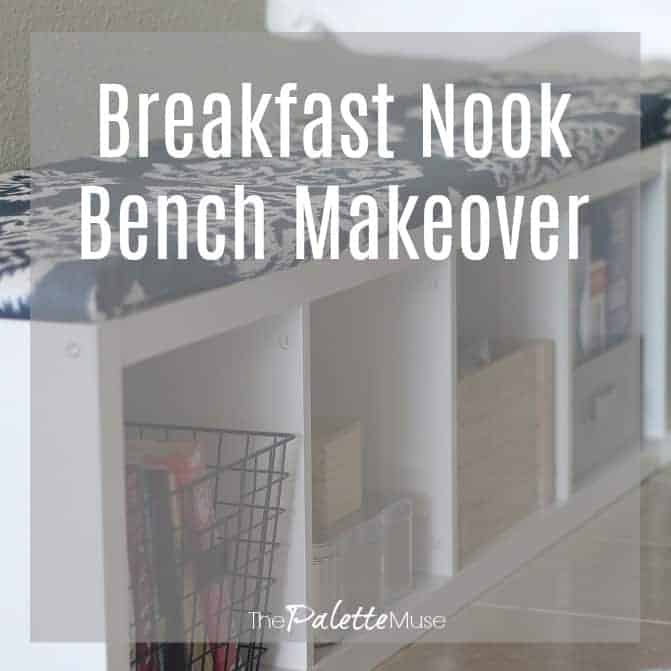 Breakfast Nook Bench Makeover for the $100 Room Challenge