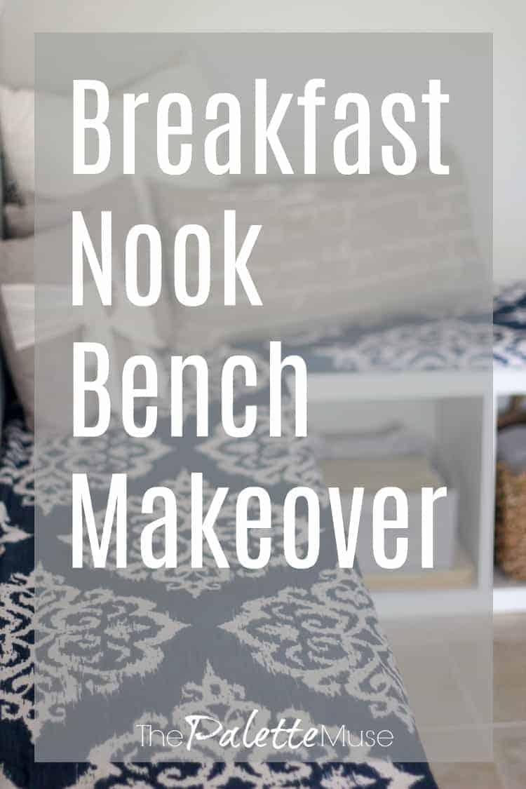 IKEA bookshelves get a bench makeover
