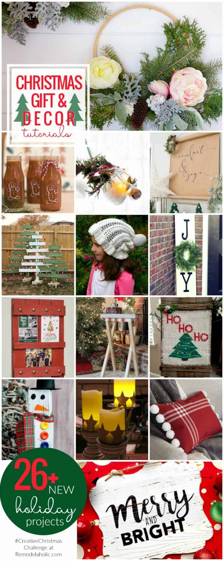 Christmas Gifts and Decor Tutorials