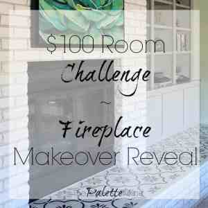 $100 Room Challenge Family Room Reveal Week
