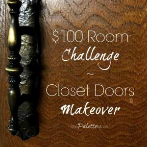 Week 2: Decluttering and Painting Closet Doors