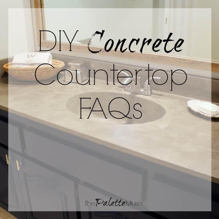 DIY Concrete Countertops FAQs