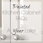 Painted Kitchen Cabinet FAQs and How They're Holding Up