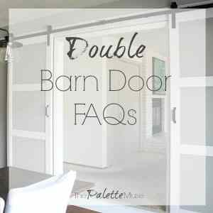 Barn Door Frequently Asked Questions
