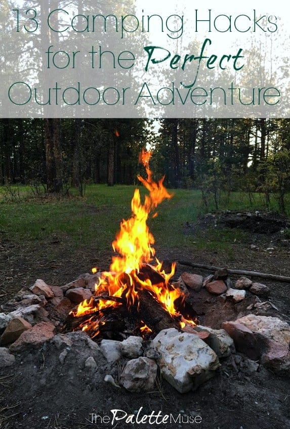 13 Camping Hacks for the Perfect Outdoor Adventure! #camping #outdoors #summerfun