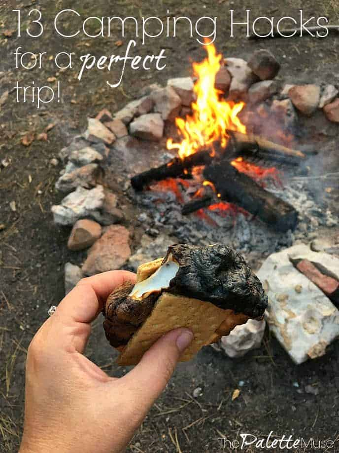 13 camping hacks for a perfect trip! #camping #summer #familyfun