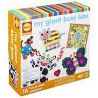 Giant Busy Box for Kids