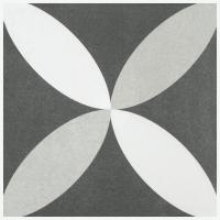 Merola Twenties Petal 7 3/4 in. Ceramic Tile