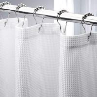 Waffle Shower Curtain, 72 x 72 Inches