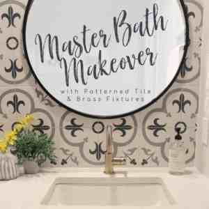 Master Bath Makeover Bliss Title