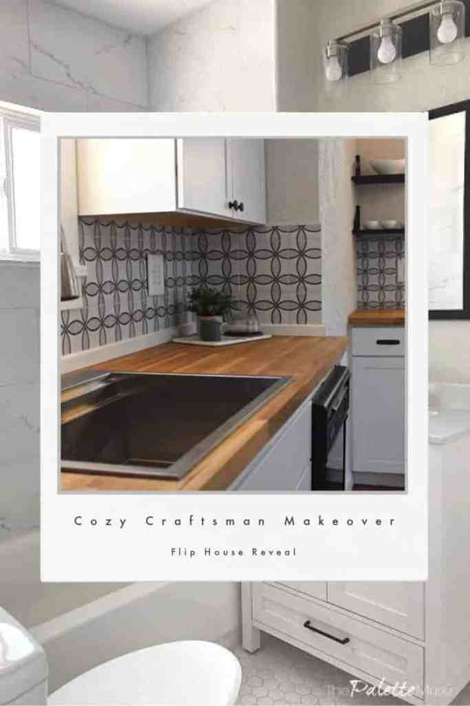 Cozy Craftsman Makeover Flip House Reveal